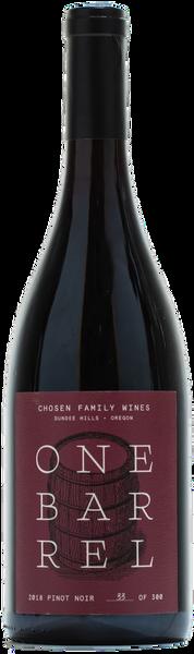 2018 Pinot Noir - One Barrel Challenge