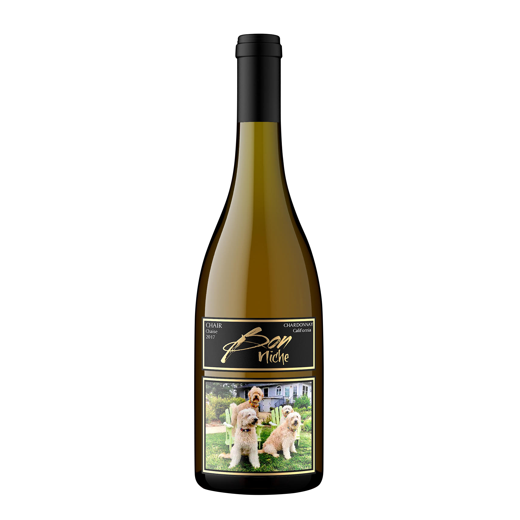 "2017 Chardonnay ""Chair/Chaise"" bottle"