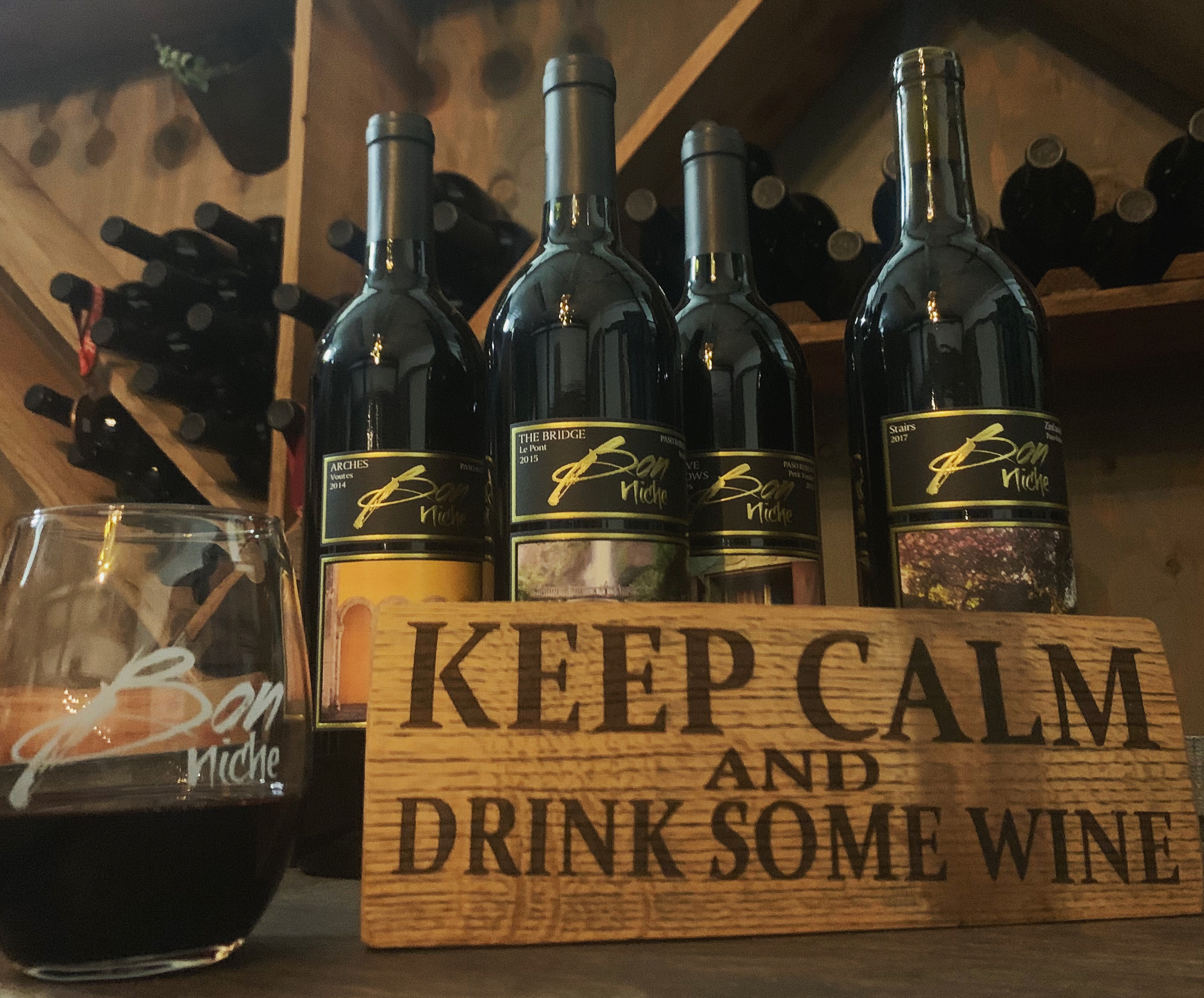 San Antonio Wardroom Virtual Wine Tasting bottle
