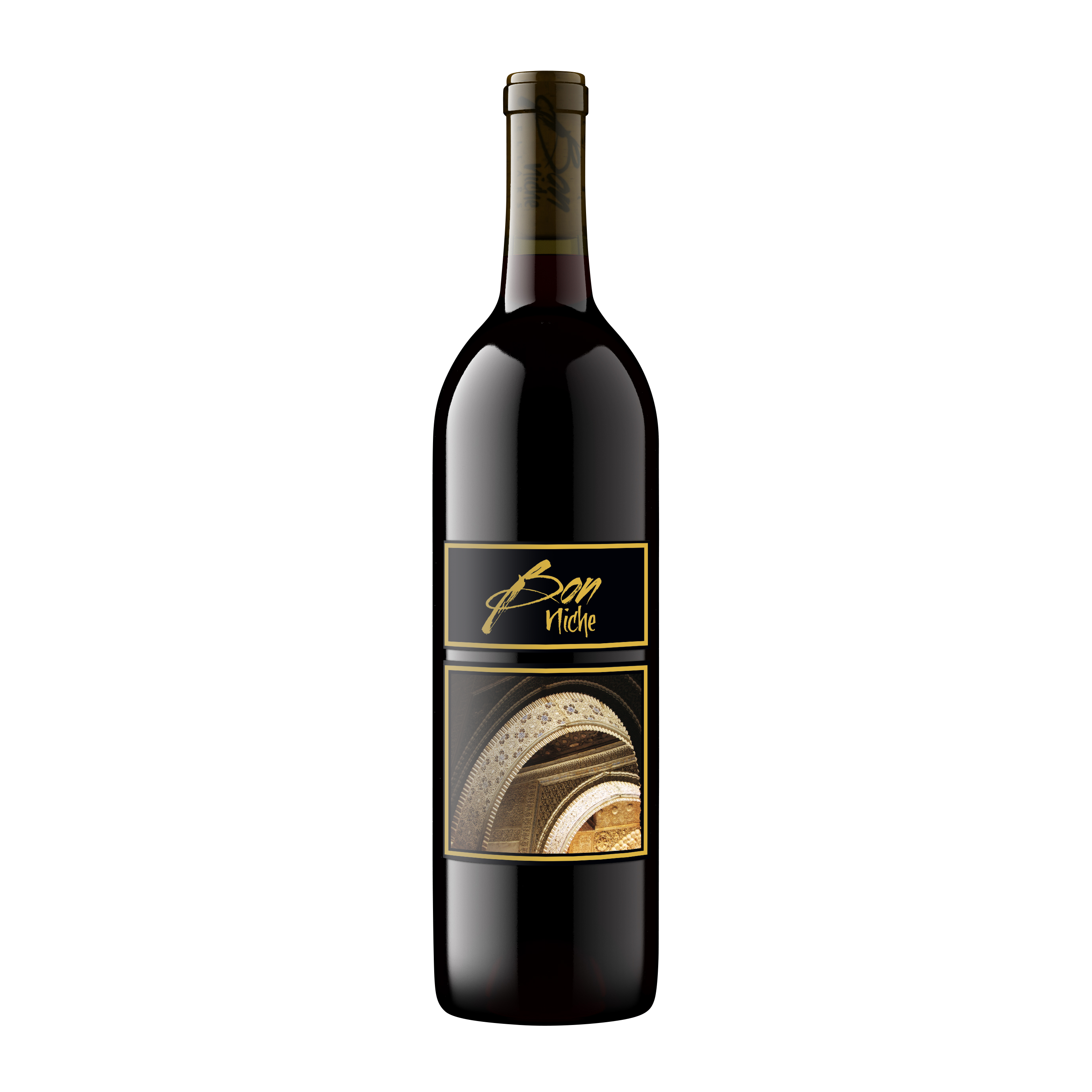 """2017 Reserve Bordeaux-Style Blend """"Arches"""" bottle"""