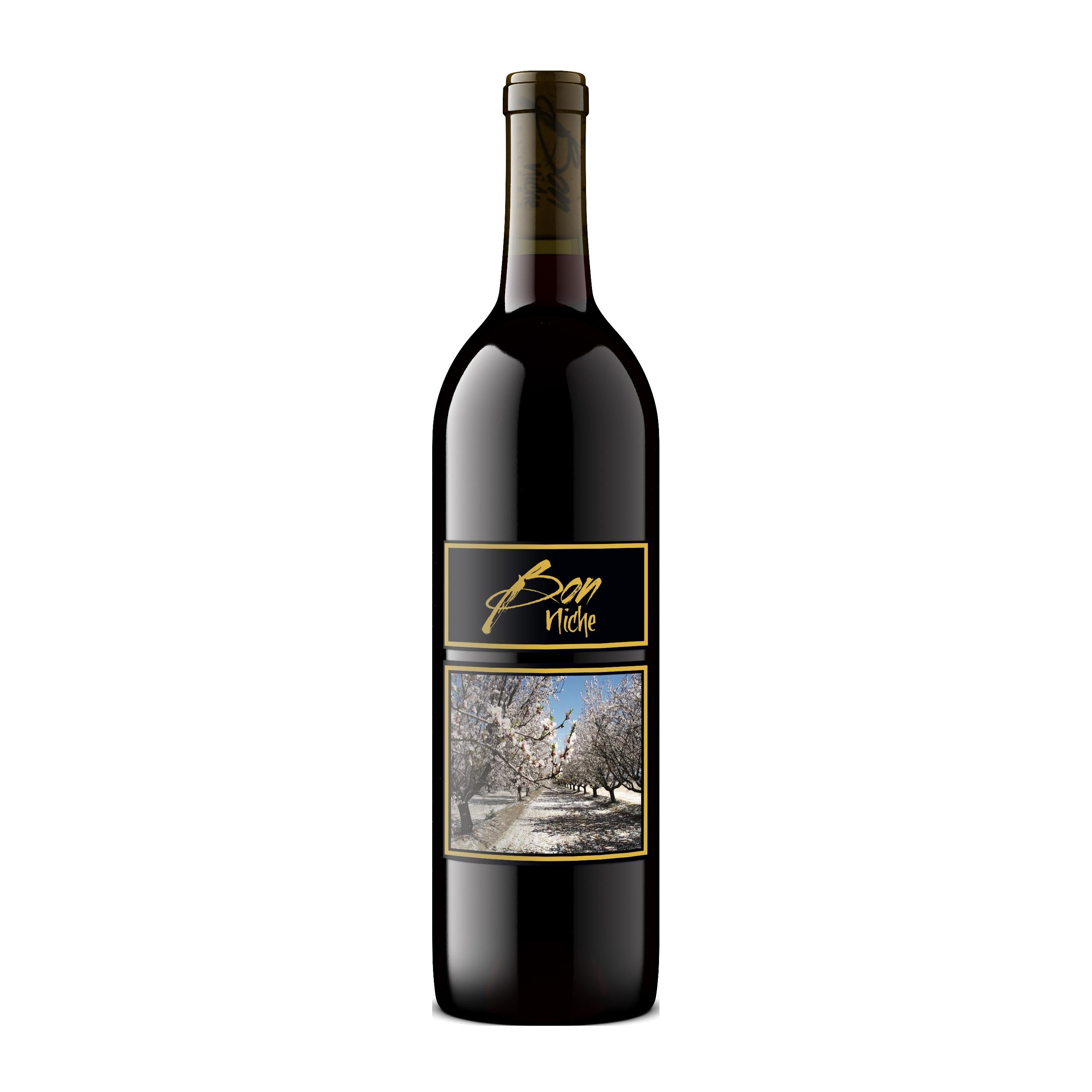 """2017 Reserve Bordeaux-Style Blend """"Path"""" bottle"""