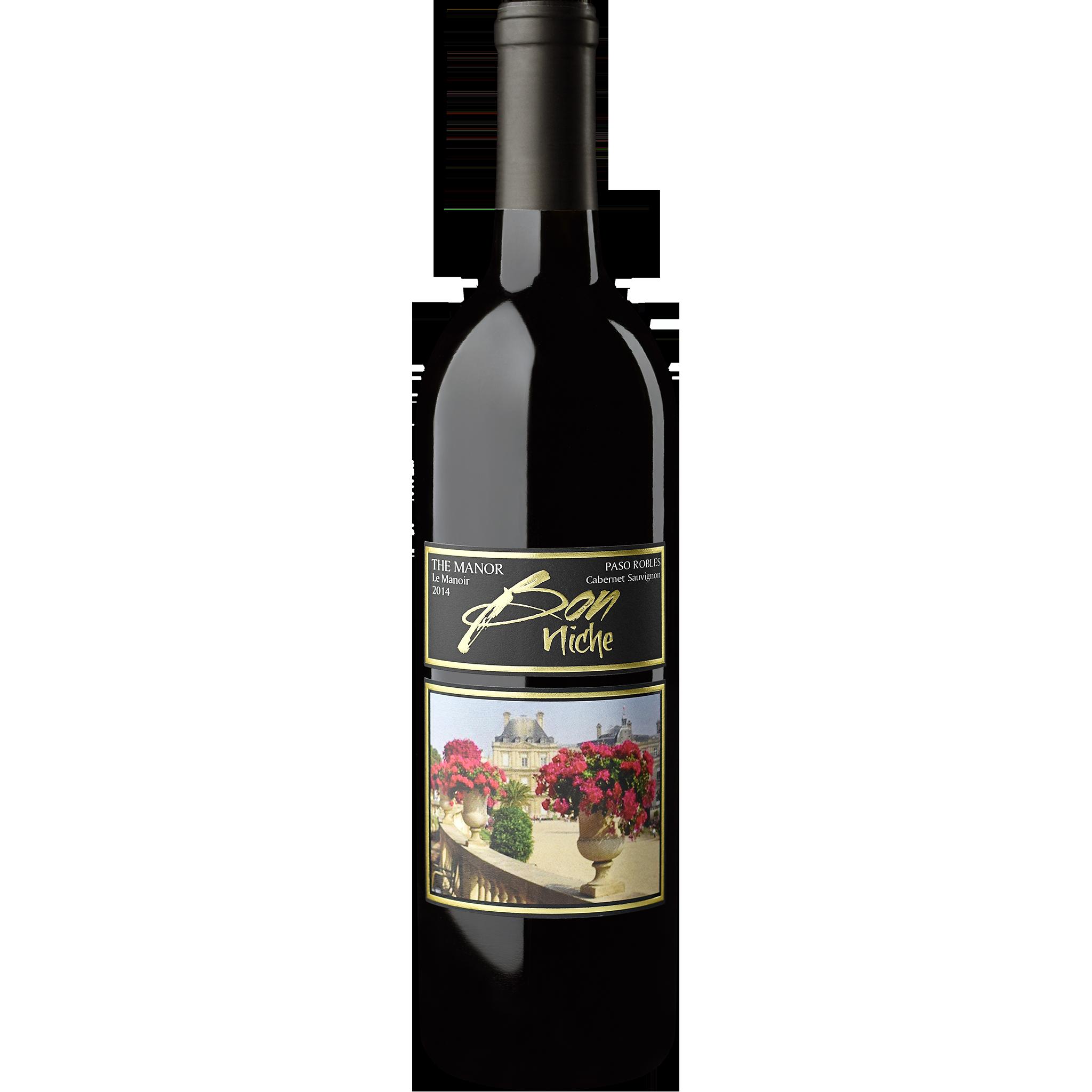"2014 Cabernet Sauvignon ""Manor"" bottle"