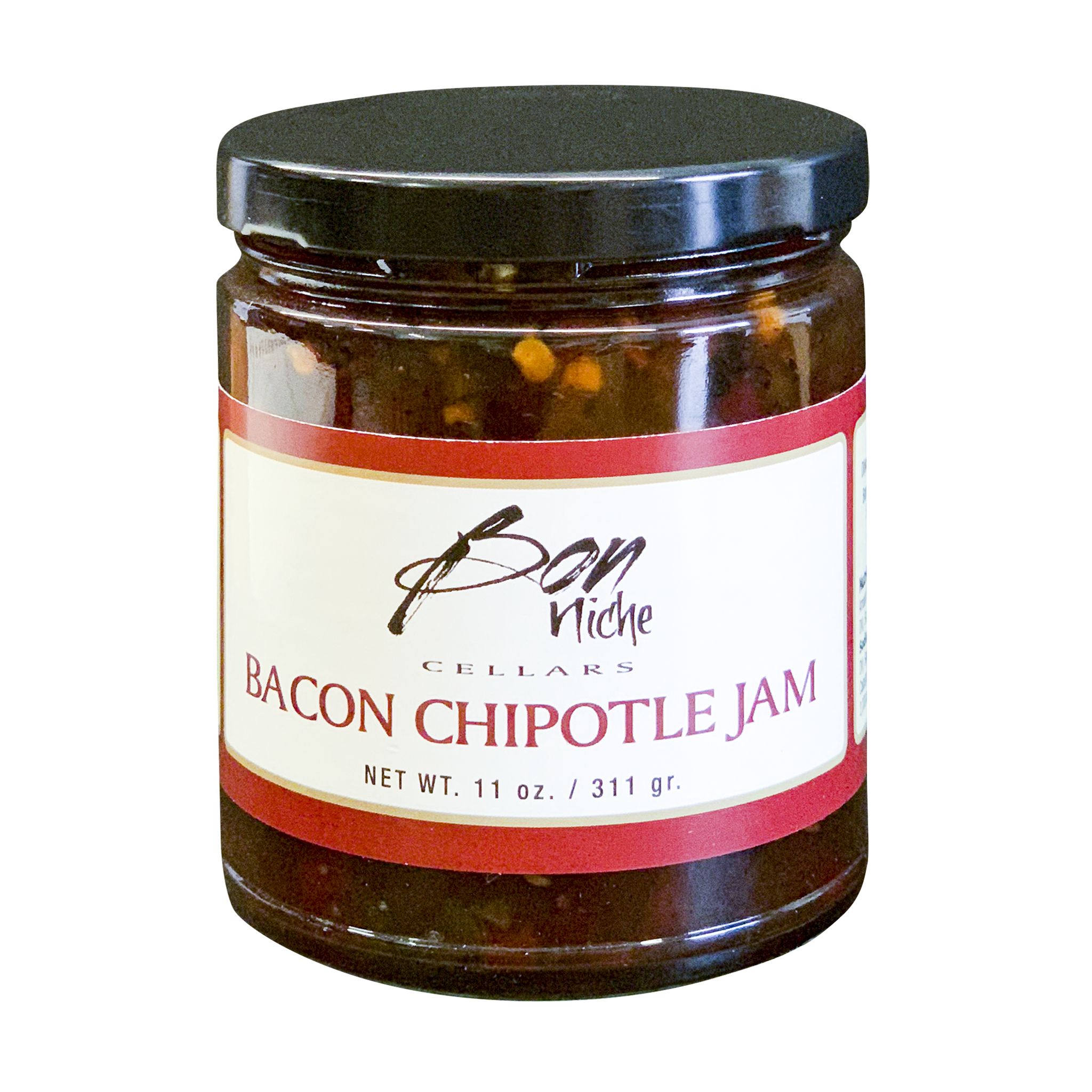 Bacon Chipotle Jam bottle