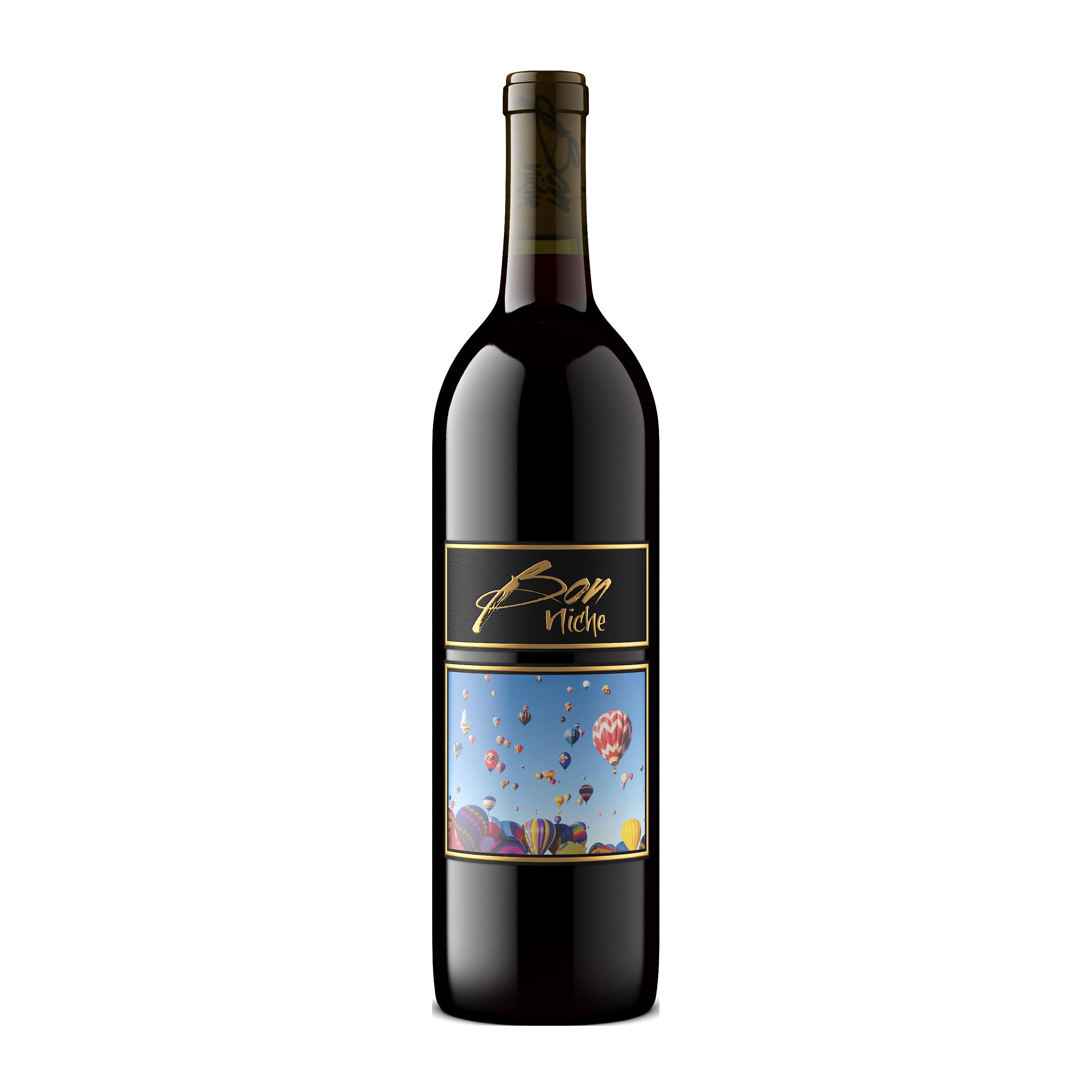 "2017 Syrah Reserve Blend ""Vacation"" bottle"