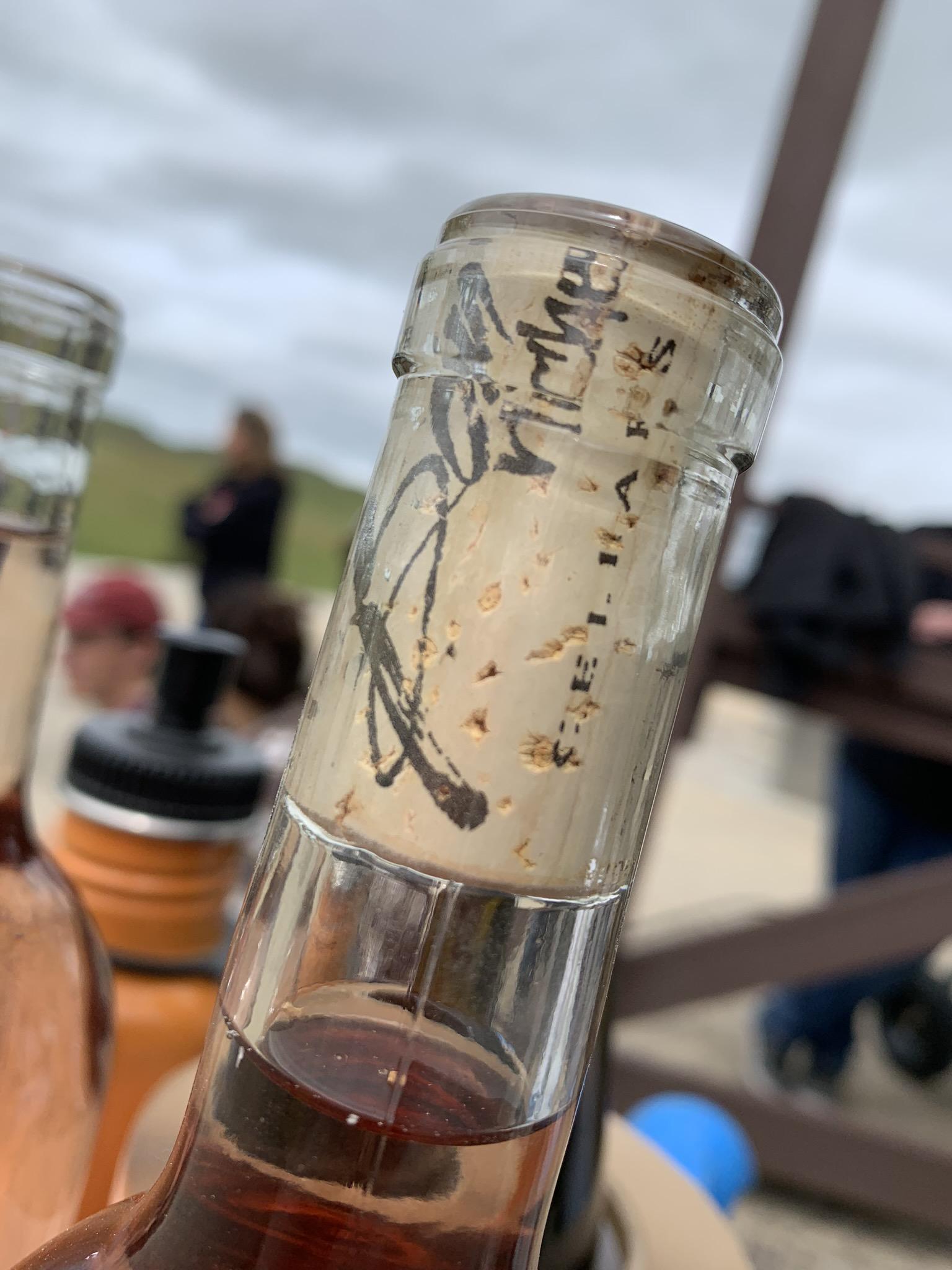 Rosè Release Party bottle